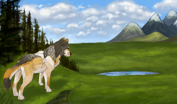 Caper meadow by PaintedPeaches