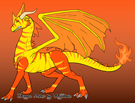 Sun Dragon by ASHREDFORD