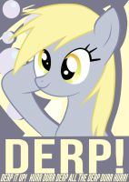Derpy Hooves Poster by Chingilin