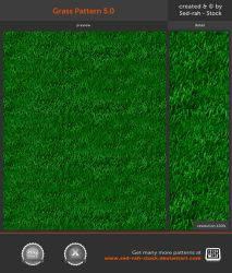 Grass Pattern 5.0 by Sed-rah-Stock