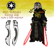 Fell Tursah, Jedi turned Sith by Grigori77