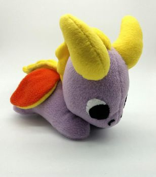 Baby Spyro Fleece Plush by Gemlettuce