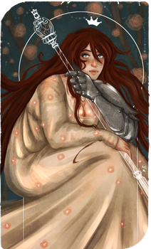 Commission: Tarot Card The Empress by AlexielApril