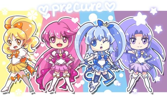 SAILOR PRECURE by Puyo0702