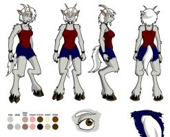 Cass Model Sheet 2008 by Catomix