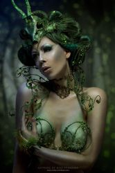 Absinthe Fairy by Ophelia-Overdose