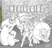 The Herculoids by denniscasarine