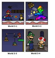 SMB: World 3 by minimariodrawer