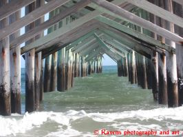 Under the pier by GothicRavenMidnight