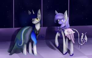 Gala outfits! for Starflare244 by Elicorngamer