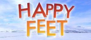 Happy Feet Text Effect by AinsleyB