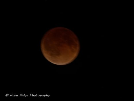 Blood Moon Total Eclipse by RobyRidge