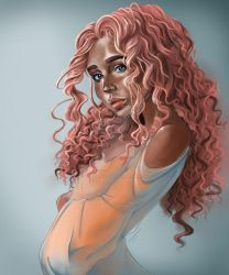 Rose Gold by TaylorThiesArt