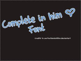 Font O3 Complete in him by PerfectSensati0nn