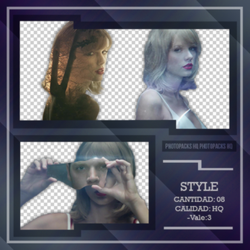 Pack PNG de Taylor Swift-Style.- by JustOfLight