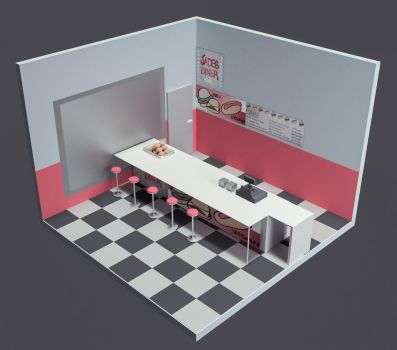 Diner - Work in Progress by DISC0MB0BULATED