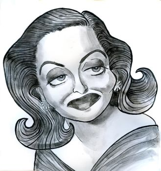 Bette Davis by Caricature80