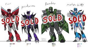 Transformer Adopts [CLOSED] by Lorkain