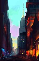 Cityscape by Max-Kneht
