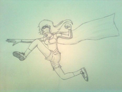 Super heroine Me by CocoAnime