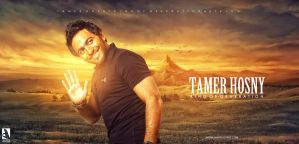 Tamer Hosny -Photo Editing by mounir-designs