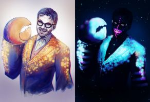 Tamatoa - Jemaine Clement by NarumyNatsue