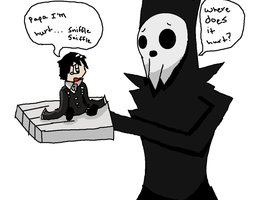 Lord death and his son kidd by OliviaMilligan