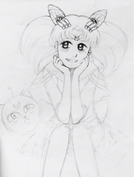 Chibiusa in Love -WIP- by AkaPearl
