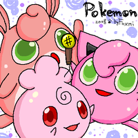 OuO9 - Igglybuff and Jigglypuff and Wigglytuff