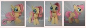 Fluttershy Plush by Pastelblueunicorn