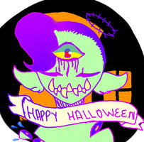 Halloween bean by Illiterate-Swine