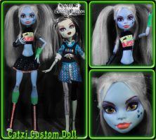 Catzi Custom Doll by KittRen