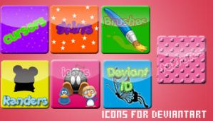 Icons for you DeviantArt by xxmsrockxx