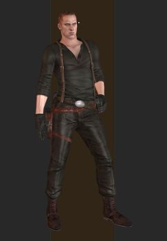 XPS - RE6 - Jake Muller China Outfit by henryque999