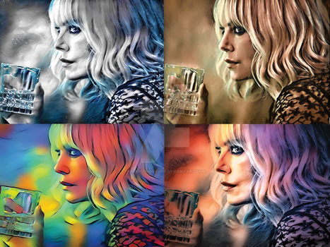 Atomic Blonde - Quad Style by GuardianMajor