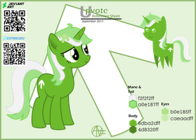 Upvote Pony Reference sheet by arifproject