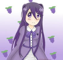 Grape flavored yuri by 2strawberry4you