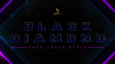 Black Diamond Layer Style -FREE- by Xiox231