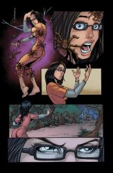 Grimm Fairy Tales Issue 78 page 10 colors by Saraquael