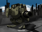 MOUT HEAVY ARMOR ver BATTLE MODE by Headslider