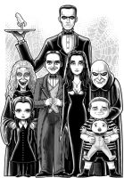 The Addams Family by Thuddleston