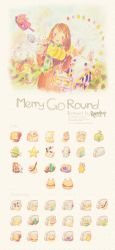 Merry Go Round Icon Set by Raindropmemory