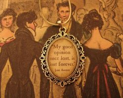 Mr Darcy Necklace by Lisa-Locket
