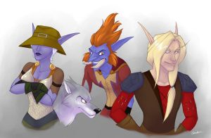 WoW Characters by spiritwolf77