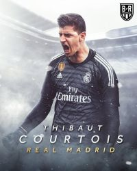 268. Thibaut Courtois by Ramin7Sharifi