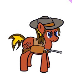 Western Pony by pvtjcaboose