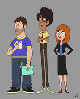 The IT Crowd by chillyfranco