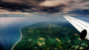 Flying over the Isle's North by euancraine