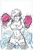 Boxing Cassie Hack Rough by JoeCostantini