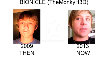 iBIONICLE : Then (2009) and Now (2013) by CapLagCreepAkaAM